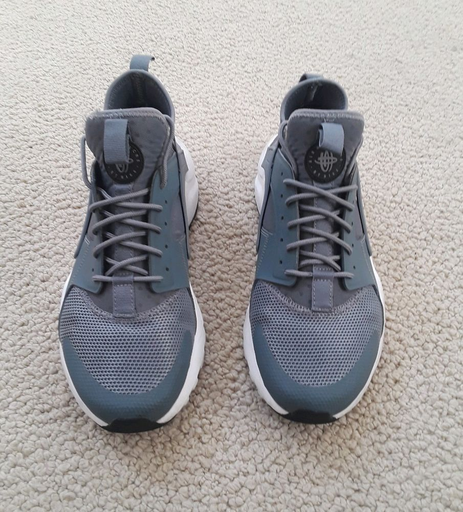 de8cf1dbbb4d1 Nike Air Huarache Run Ultra Cool Grey Men s Size US 9.5 Shoes 819685-011   fashion  clothing  shoes  accessories  mensshoes  athleticshoes (ebay link)