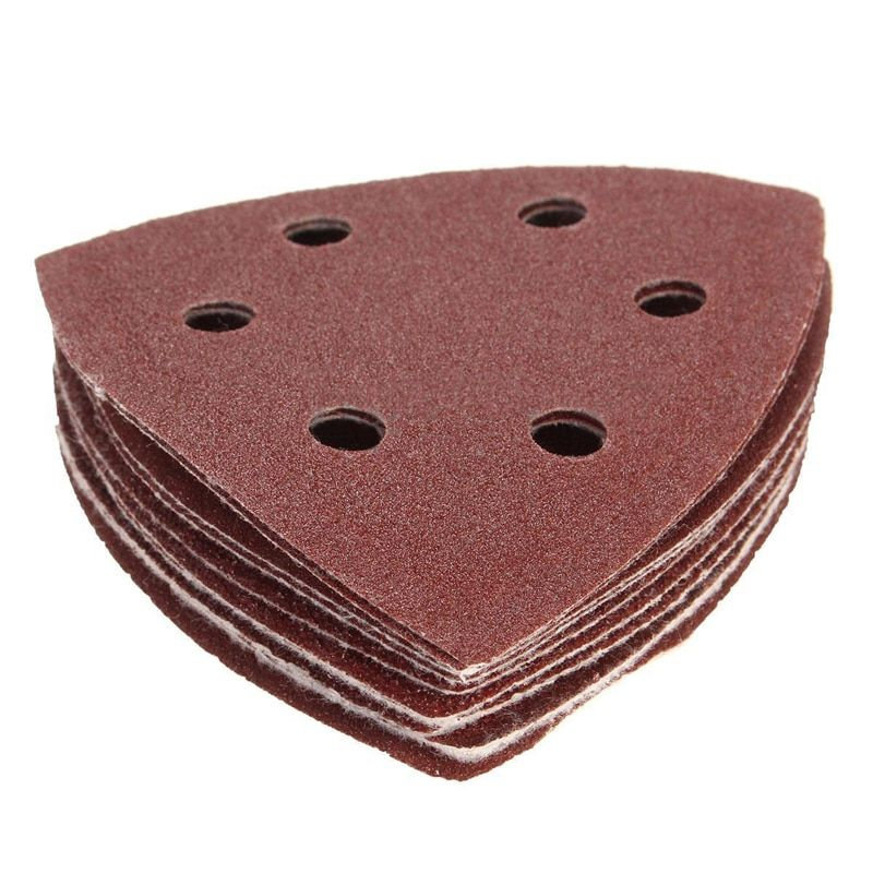 10pcs Mouse Sanding Sheets 40 60 80 100 120grit Sanding Discs Sanding Sheets Triangle Sander Grinder Paper For Abrasive Tools 10pcs Tools For Sale Things To Sell Sandpaper
