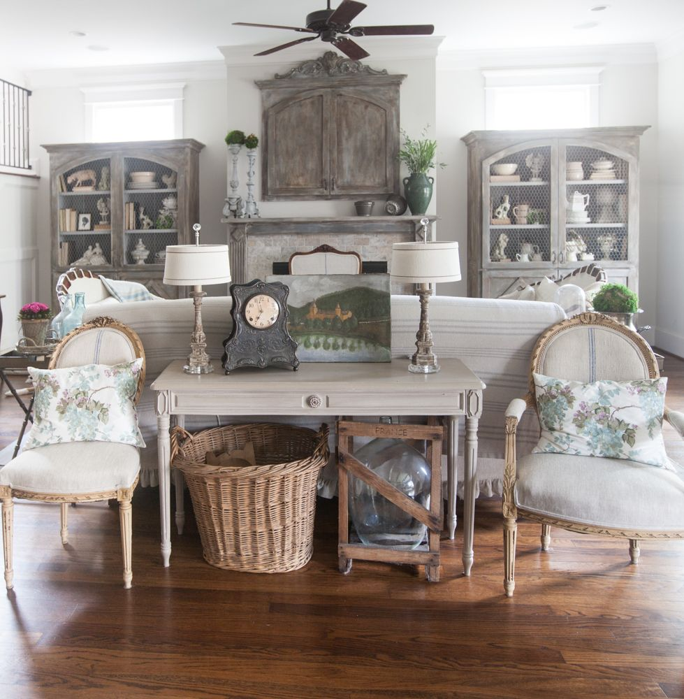 Basic Elements Of Country Living Room