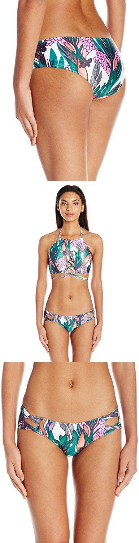 985c8364cb MINKPINK Women s Texta Tropical Boyleg Bikini Bottom