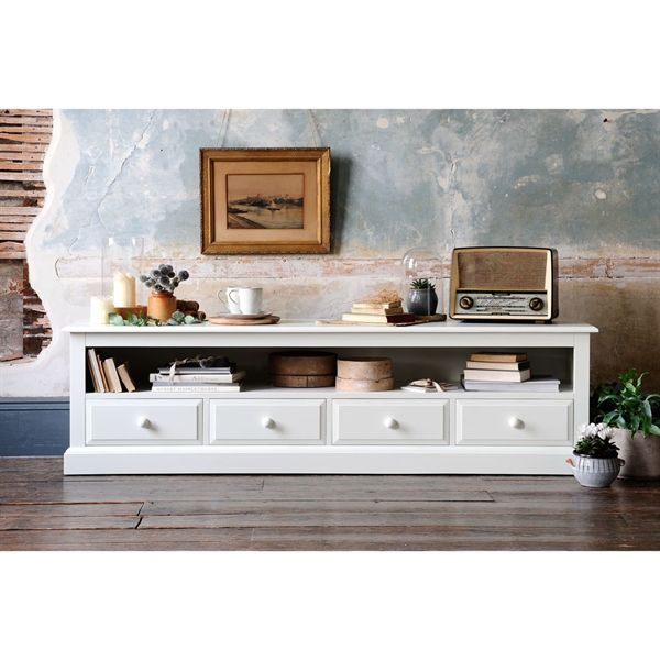 best service d5cb7 48075 Burford Painted Extra Large TV Stand - Up to 80