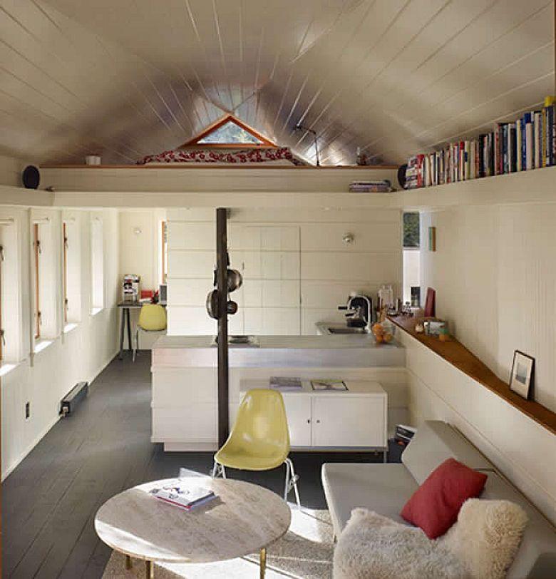 Mezzanine Sleeping Area sleeping mezzanine level | space saving | residential | garage