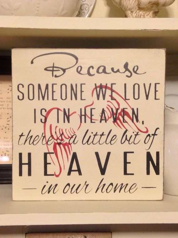 Because Someone We Love is in HEAVEN by DaisyPatchPrimitives