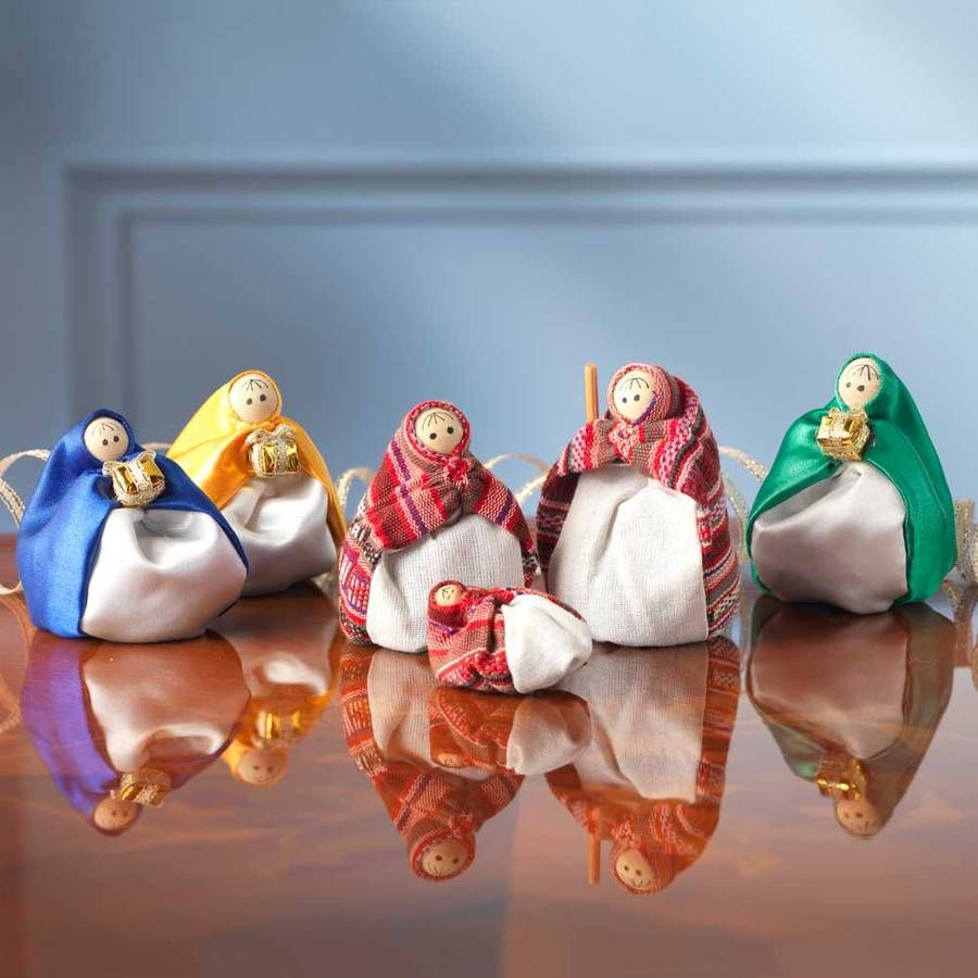 Beanbag Nativity Set