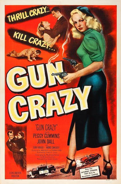 Gun Crazy - Film Noir Movie Poster