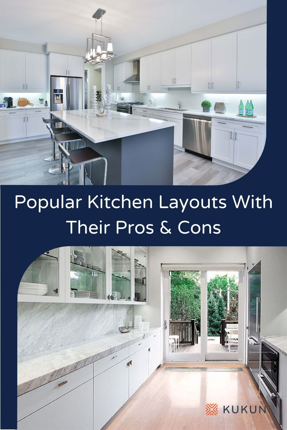Popular Kitchen Layout Designs And Their Major Pros And Cons In