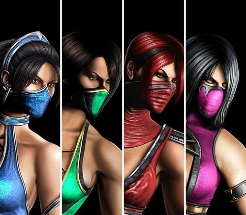 Mileena Naked Jade,Kitana wallpapers and