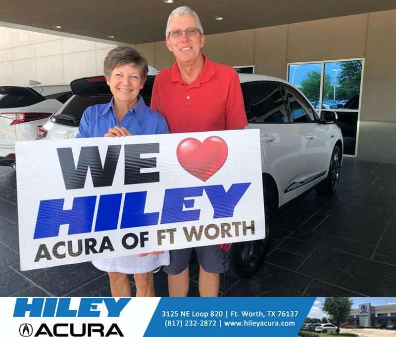 Congratulations Gene on your #Acura #RDX from Austin Doyle at Hiley Acura! #NewCar