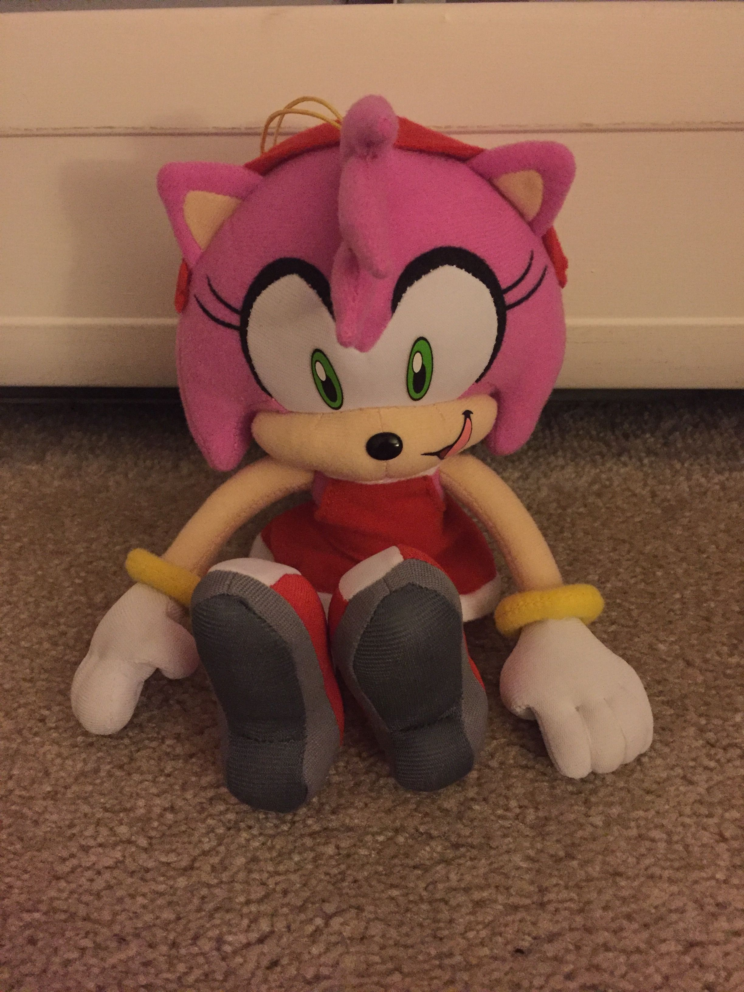 Modern Amy Rose Plush Sonic plush toys, Nightmare before