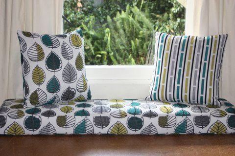 Indoor Window Seat Squab | Bay window squabs | Pinterest | Window