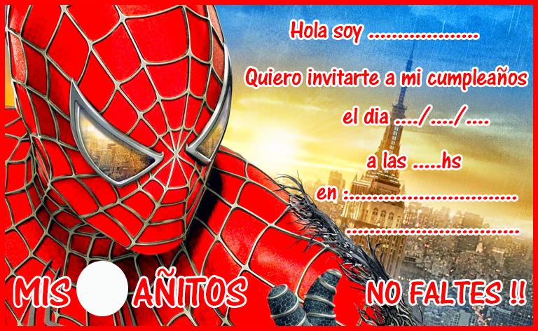 Pin De Sandy Ortiz En Cumpleaños Araña Spiderman