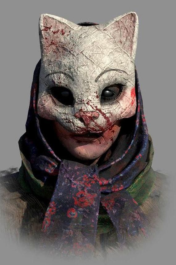 Inspired By Anna Mask Dead By Daylight Cosplay Halloween Masks Crafts Cosplay Mask
