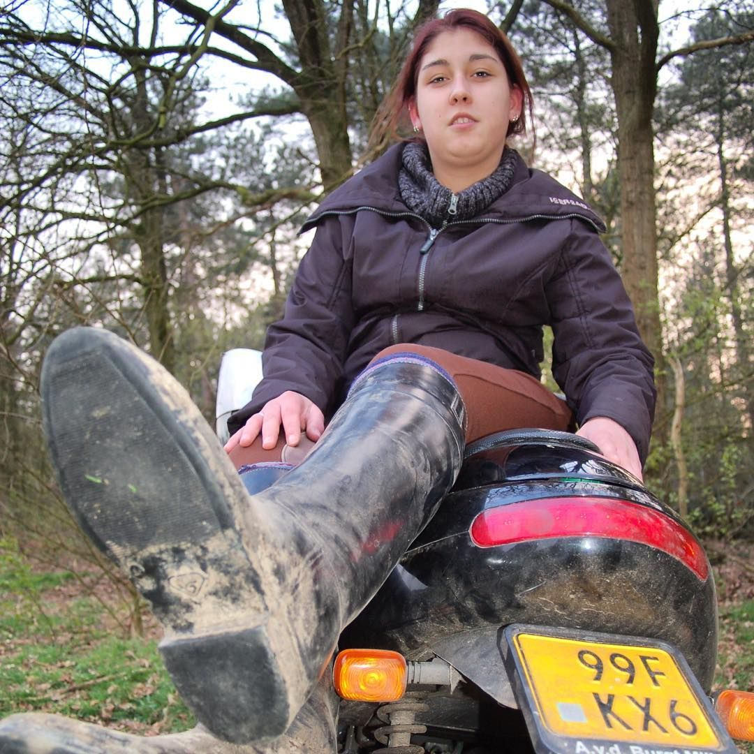 Onwijs Her Aigle Dressage riding boots need some cleaning UU-97