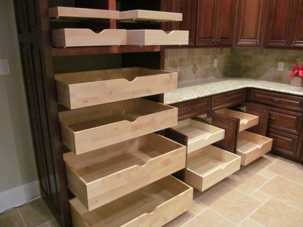 Roll Out Pantry Shelves By Ezeglide Shelving Solutions