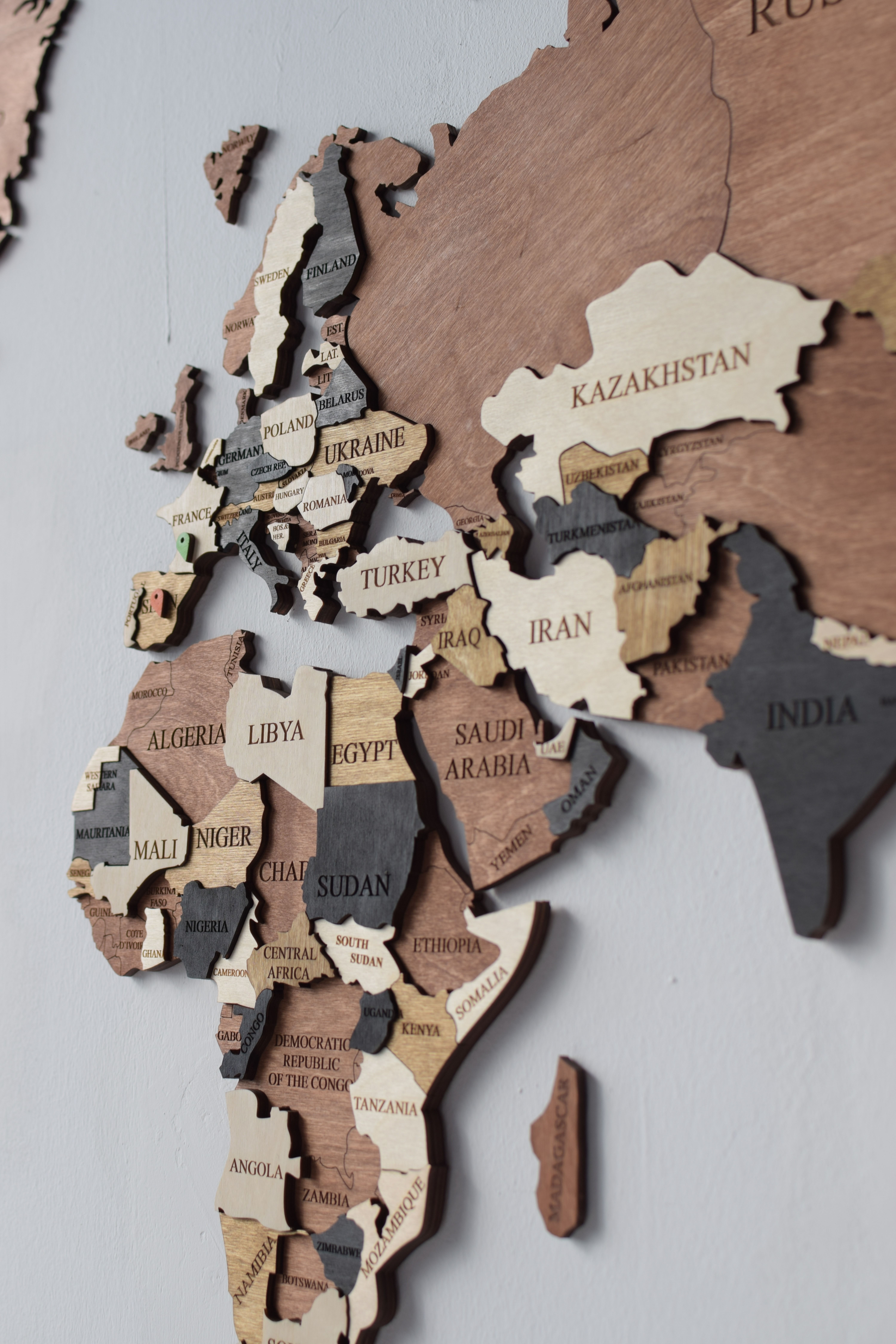 Wooden Travel Push Pin Map World Map Large Office Wood Map Push Pin Travel Map Wood Map World Map Wall Art Wall Maps