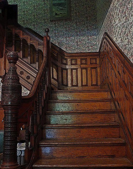 Victorian Stairs by William Walker