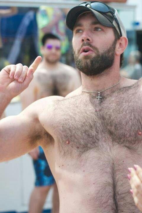 chest Harvey levin hairy