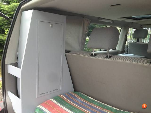 selbstgebaute campingm bel wohnmobil und. Black Bedroom Furniture Sets. Home Design Ideas