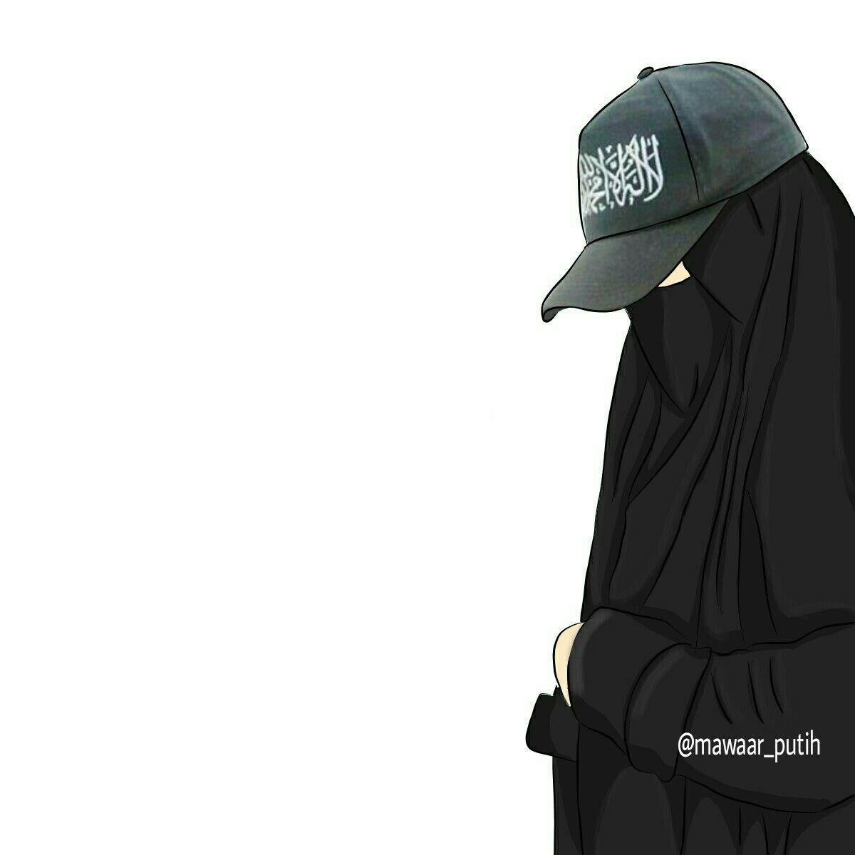 Pin On Kartun Muslimah