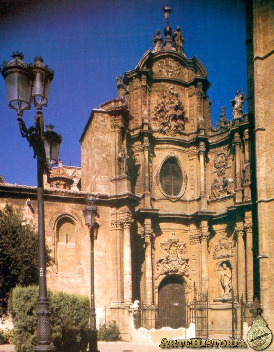 CONRAD RUDOLF. Catedral de Valencia. c. 1710 Fachada principal.