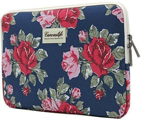 """Canvas 11 12 13 14 15.6 inch Laptop Bag Notebook PC Sleeve Case Pouch for woman for hp macbook sony 11.6"""" 13.3"""""""