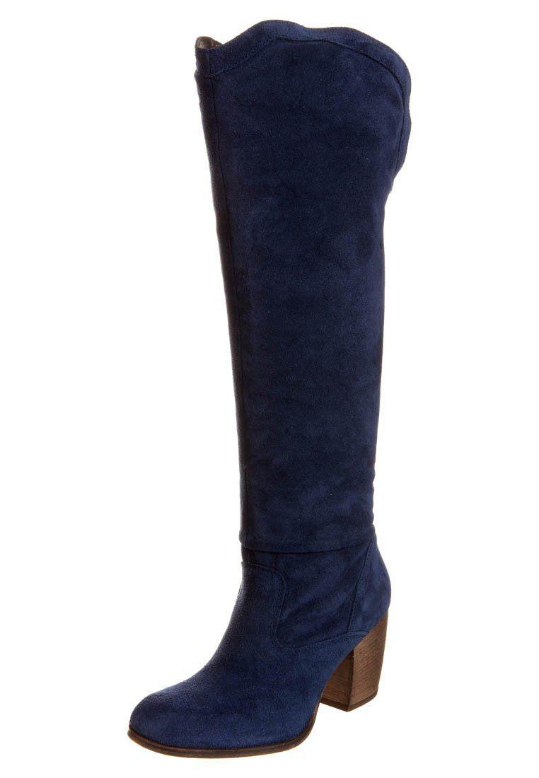 Zign Høje støvler/ Støvler - blå