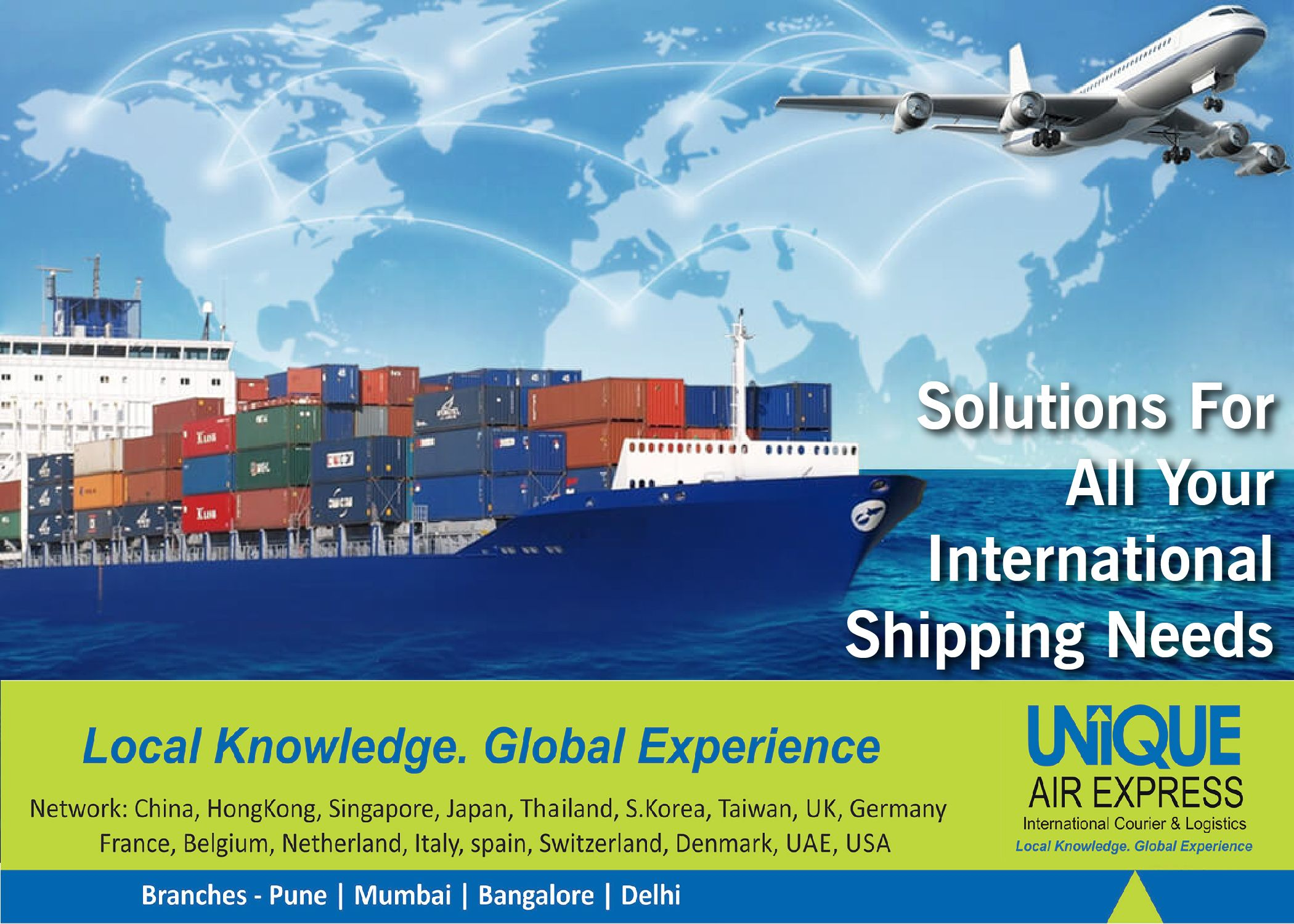 Solution for all Your International Shipping Needs is