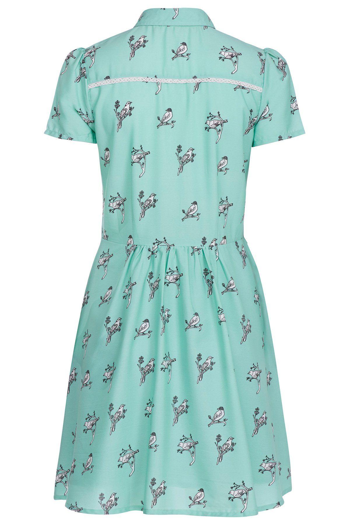 Birdie Dress - Green Image