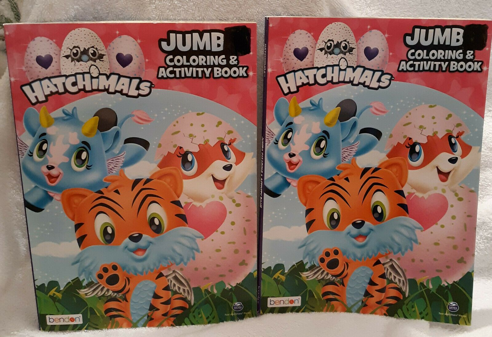 Lot 2 Hatchimals Jumbo Coloring Activity Book By Bendon 96pgs Free Shipping Color Activities Book Activities Coloring Books