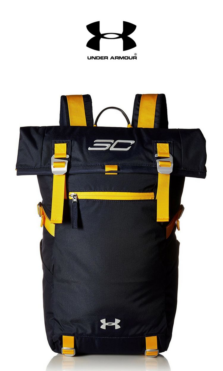 39ede0216eee90 Under Armour SC30 Signature Rolltop Backpack | Midnight Navy | Click for  More Under Armour Backpacks!