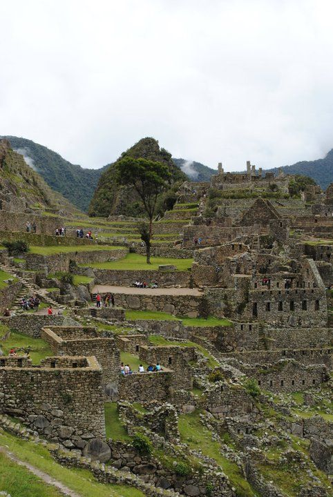 Machu Picchu A place I want to visit.