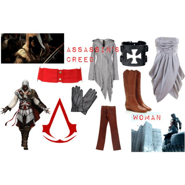 """""""Assassin's creed (woman)"""" by ringsofsaturn on Polyvore"""