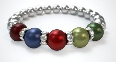 """Just wanted to thank you once again for making a friend of mine feel special when I presented her with her very own """"Mothers"""" bracelet.  I have also bought one for myself and my sister and we are extremely pleased with the jewelry.  Thanks again!"""