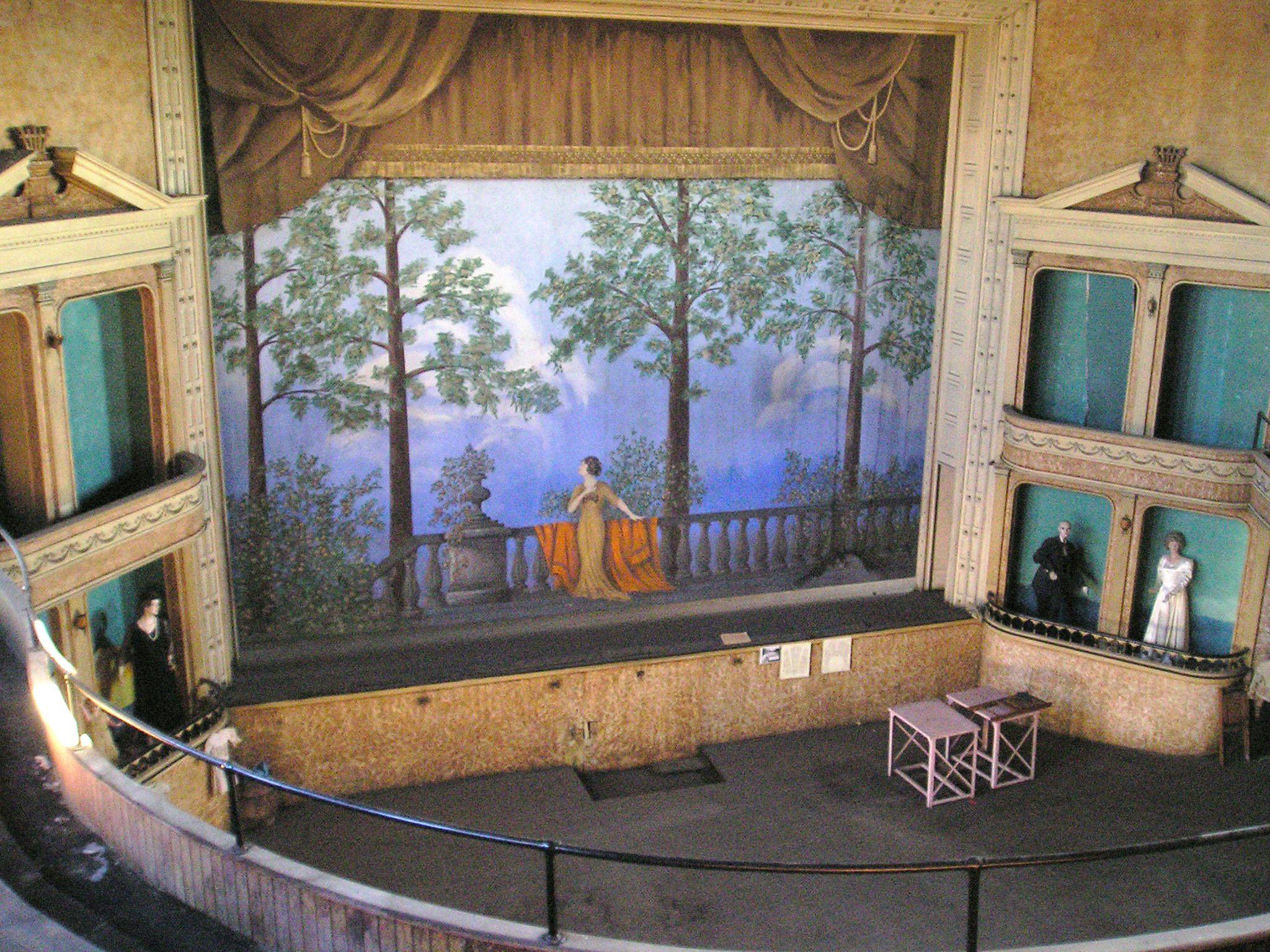 The Interior Of Bell S Opera House In Hillsboro