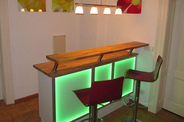 Un Bar Lumineux Theke Selber Bauen Kuchentheke Selber Bauen Ikea Diy