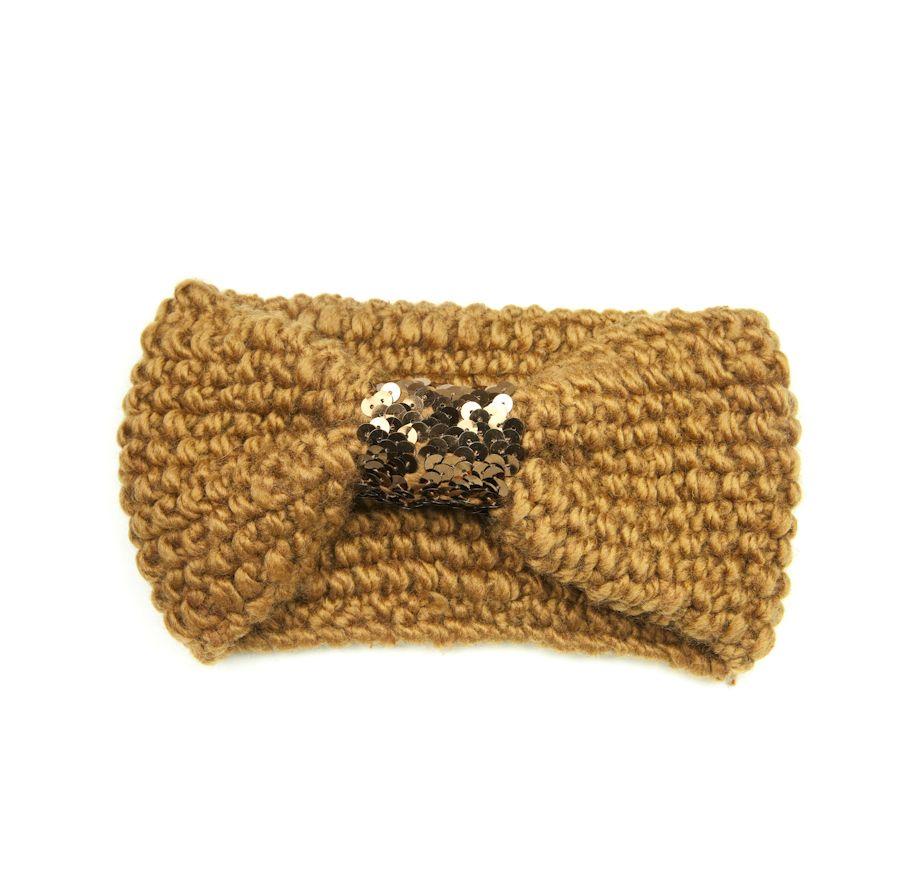 Headband sequin camel - Jolie Tête