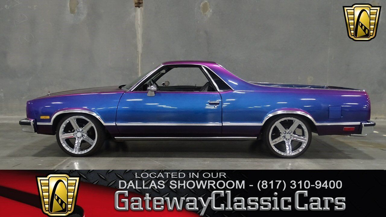 Cars for Sale: Used 1985 Chevrolet El Camino in V8, DFW AIRPORT TX ...
