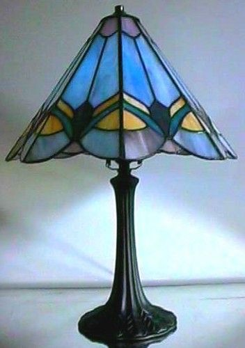 Small Prairie Stained Glass Lamp Shade Patterns And Stained Glass