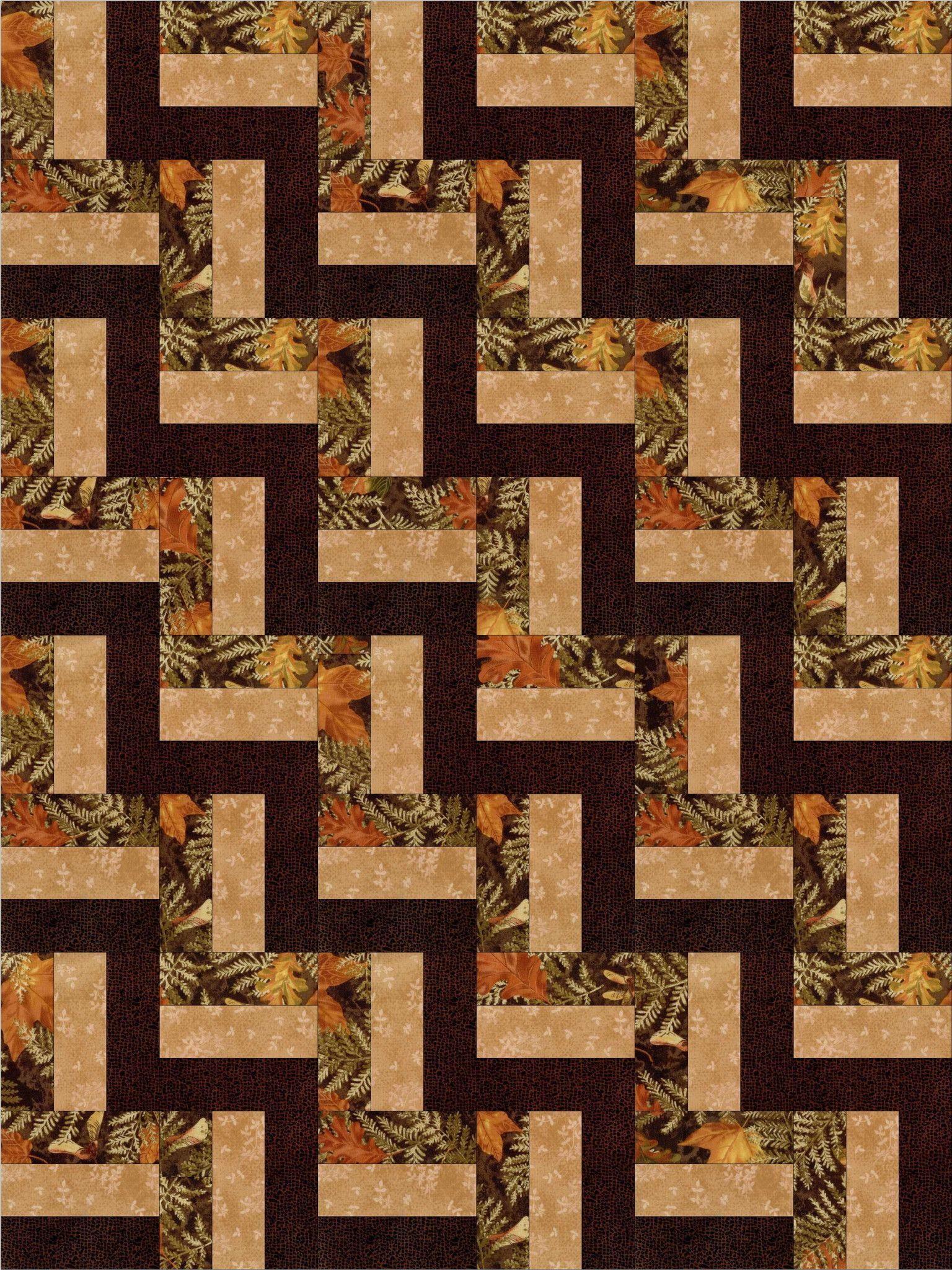 Fall Leaves Quilt Kit PreCut Blocks | quilting | Pinterest | Fall ... : pre cut quilt kits for beginners - Adamdwight.com