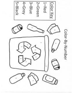 Free Recycling Themed Printables! Free recycle
