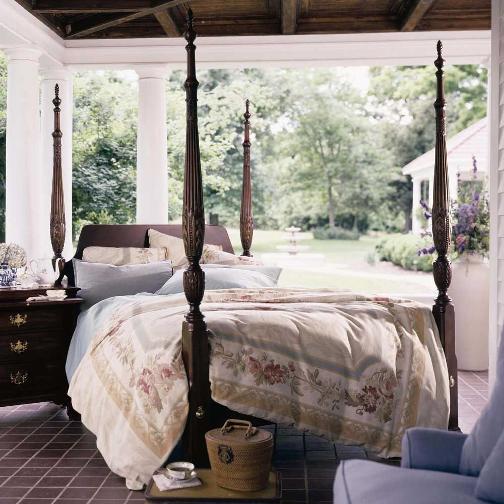 Carriage House Queen Straight Panel Rice Bed by Kincaid Furniture - Becker  Furniture World - Poster