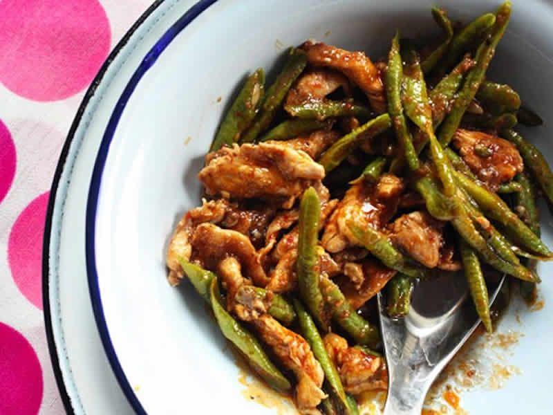 poulet aux haricots verts cookeo – votre plat principal de poulet.