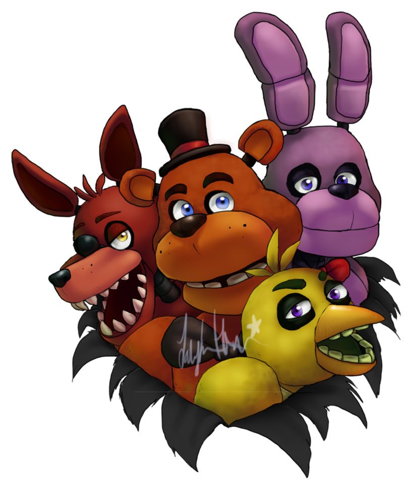 Five Nights At Freddy's By ScittyKitty On DeviantArt