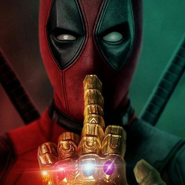 A message from Deadpool to Thanos