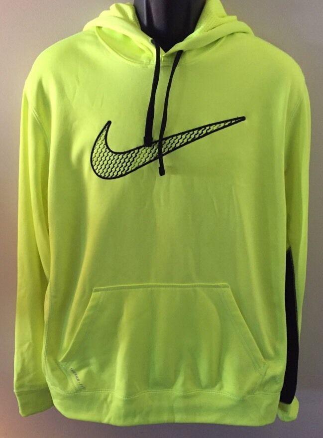 neon yellow Nike sweatshirt hoodie neon yellow Nike sweat