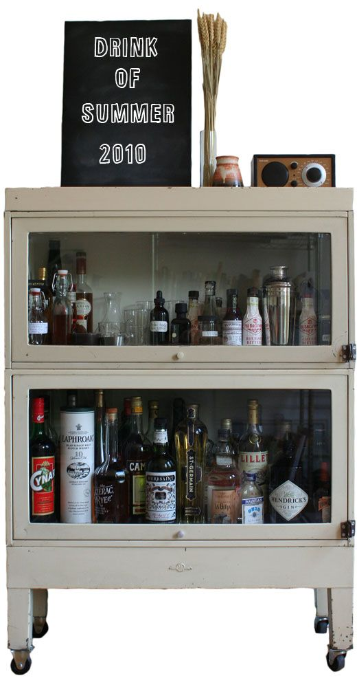 barrister bookcase u003d liquor cabinet