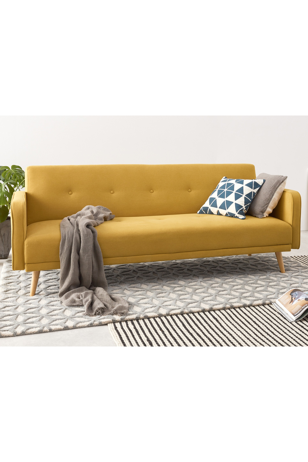 Chou Schlafsofa Buttergelb Yellow Sofa Sofa Sofa Bed