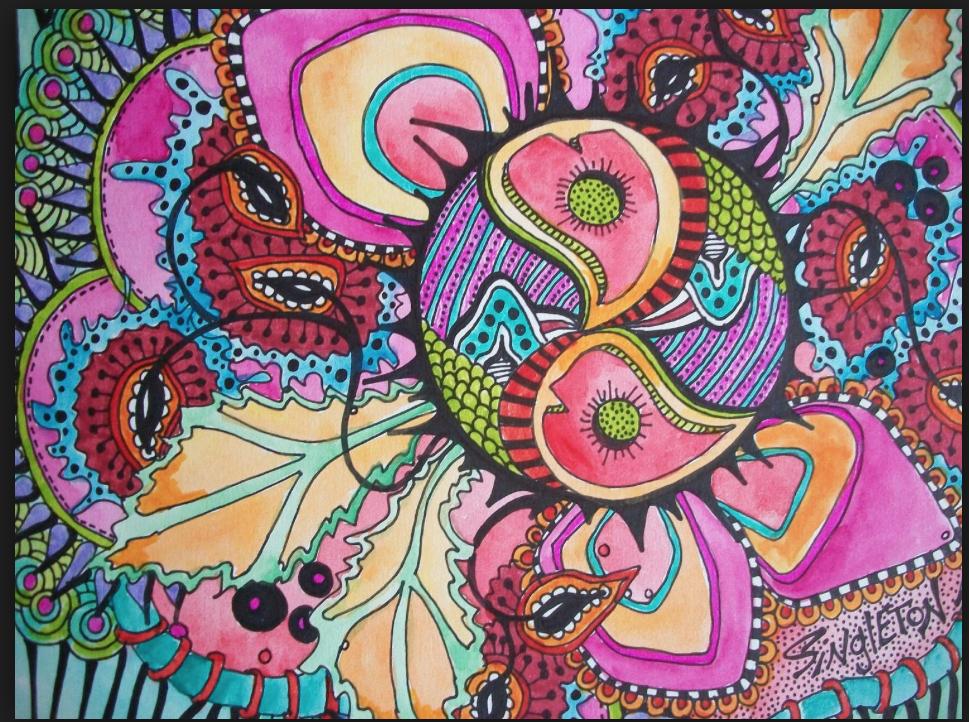 hippie art - google zoeken