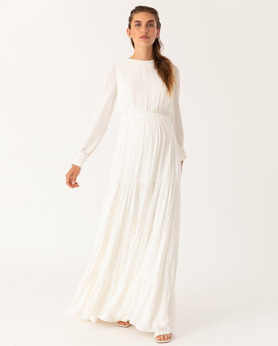 adjustable bridal maxi dress en 2020 | novios