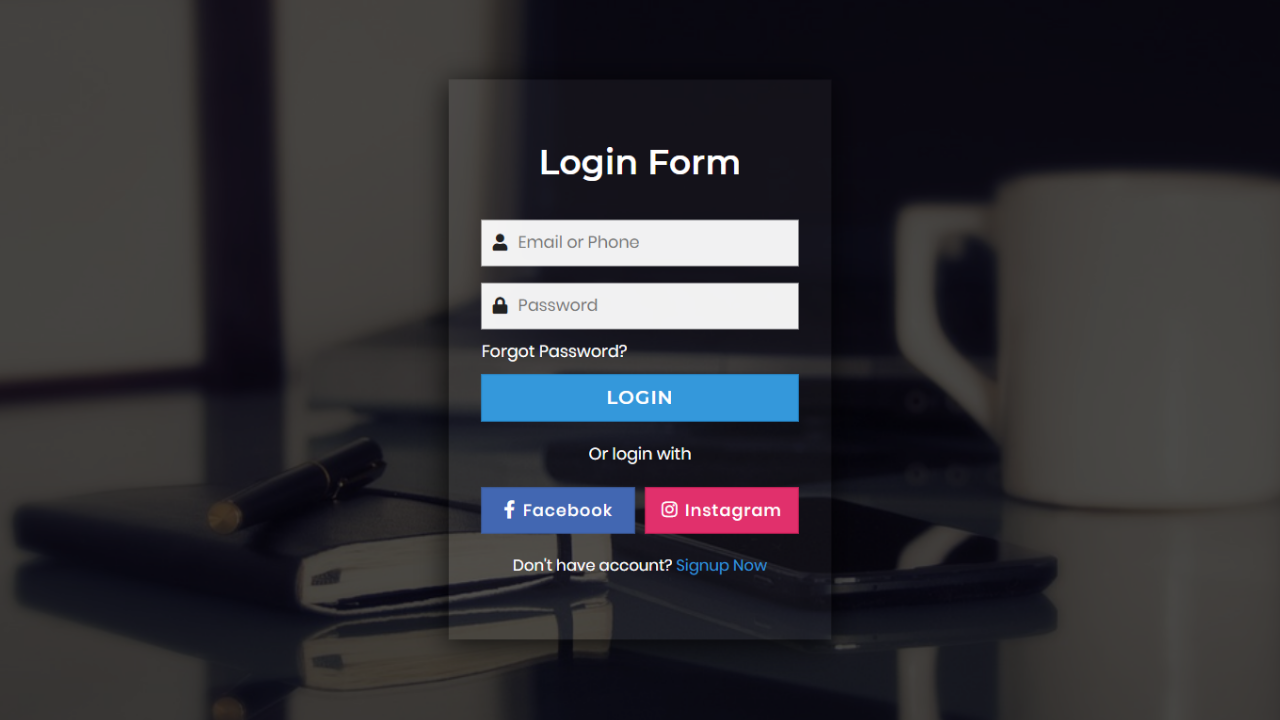 This Is A Cool Transparent Login Form Which Is Based On Html Css Javascript This Is A Login Form Is Only For Design Purp Login Form Html Css Wordpress Login